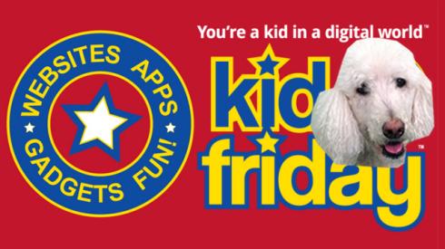 Kid Friday Dog Winston Banner